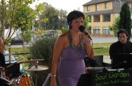 Soul Garden als musikalischer Gast in der Bar/Restaurant BUR in Graz, Juli 2012